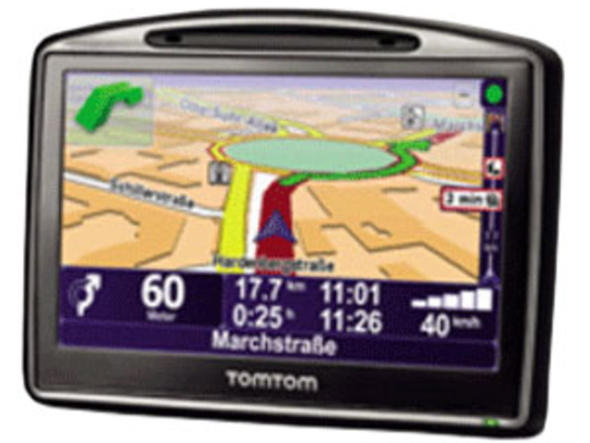 Tomtom go 630 traffic