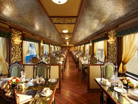 Luxuszug Maharajas Express in Indien