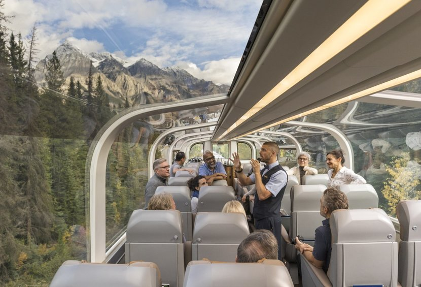 Luxuszug Rocky Mountaineer in Kanada