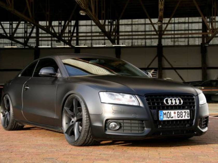 audi a5 batmobil tuning von avus performance auto. Black Bedroom Furniture Sets. Home Design Ideas