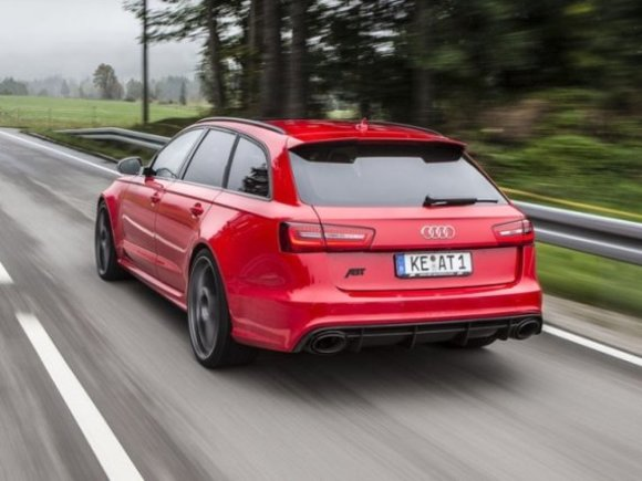 Audi RS6 Avant Tuning by ABT