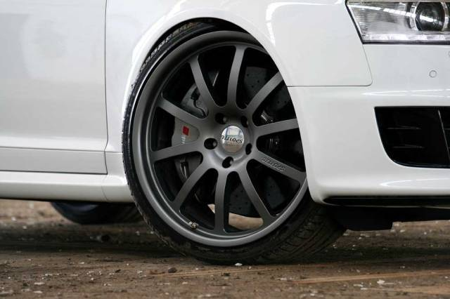 Audi rs6 white power felge