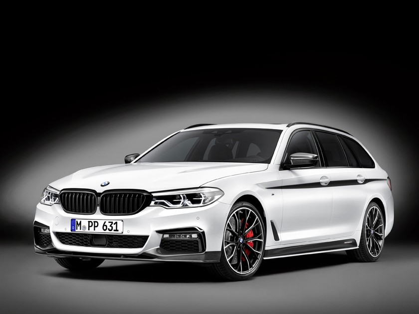 Bmw m performance parts fuer neuen 5er touring 001