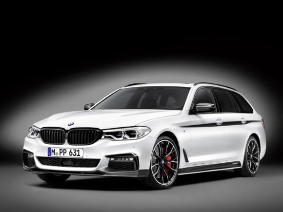 BMW M Performance Parts für den neuen 5er Touring