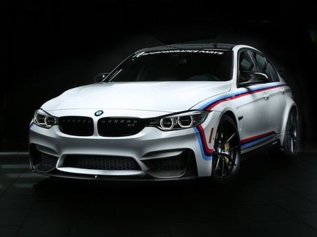 Bmw zeigt neue m performance parts las vegas 001