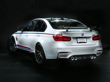 Bmw zeigt neue m performance parts las vegas 002
