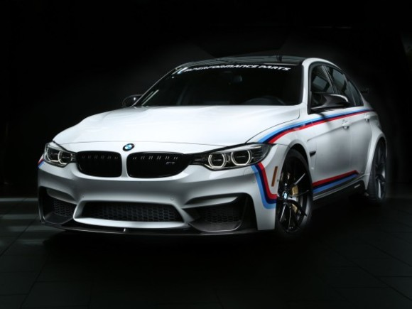 BMW zeigt neue M Performance Parts in Las Vegas