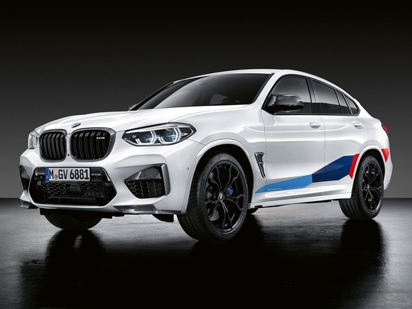BMW X3 und X4 M Performance Parts