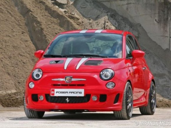 Fiat 500 Tuning by Pogea Racing