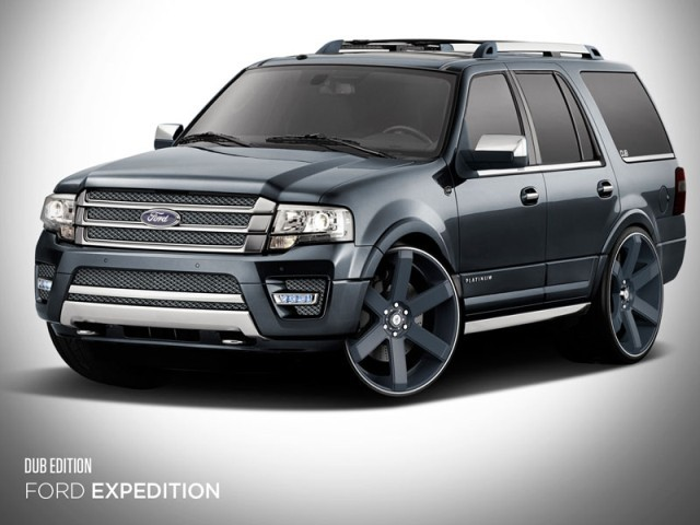 Drei spezielle versionen des ford expedition sema 002