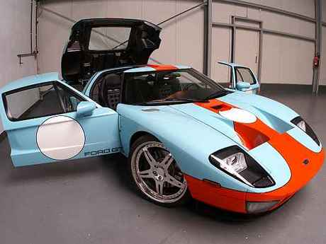 Ford gt 600 offen