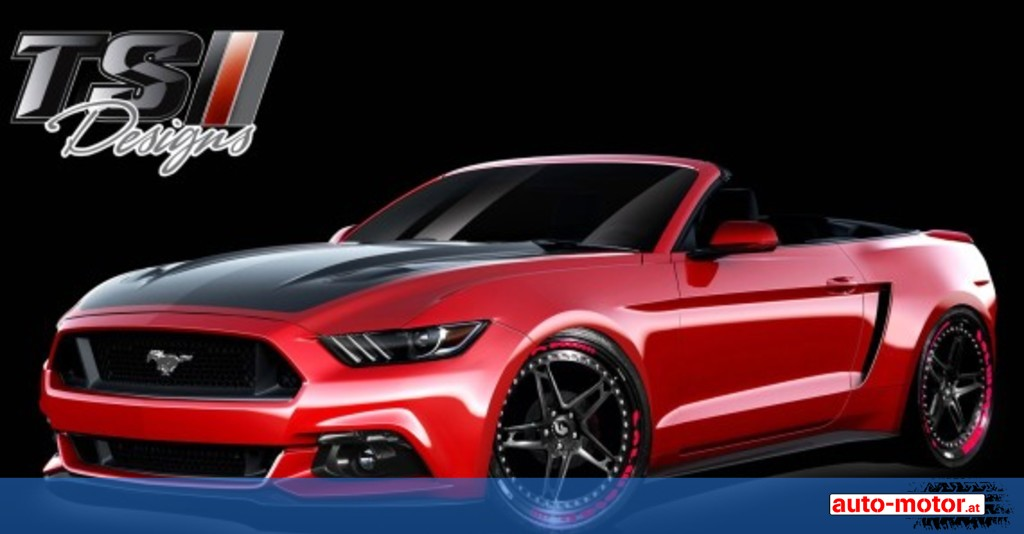 7 x ford mustang tuning auf der sema 2015 auto motor. Black Bedroom Furniture Sets. Home Design Ideas