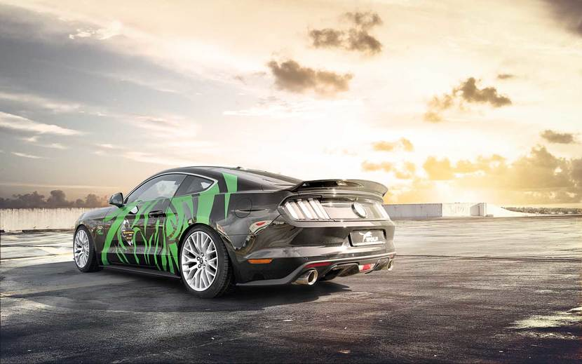 Ford Mustang Tuning by Wolf Racing