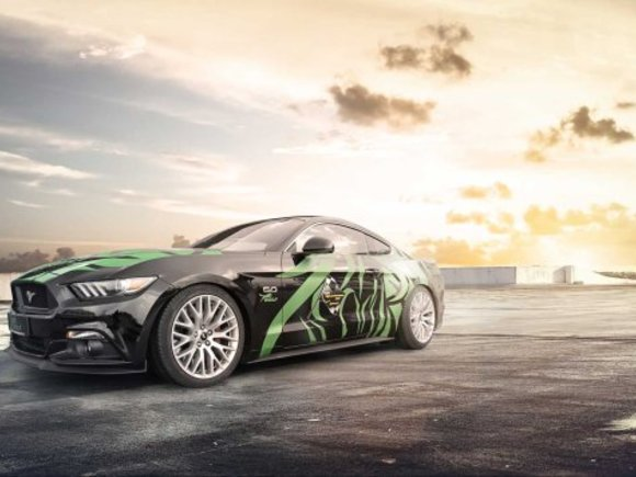 Ford Mustang Tuning-Programm von Wolf Racing