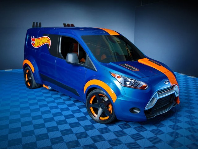 Sema 2013 ford transit connect by hot wheels 004