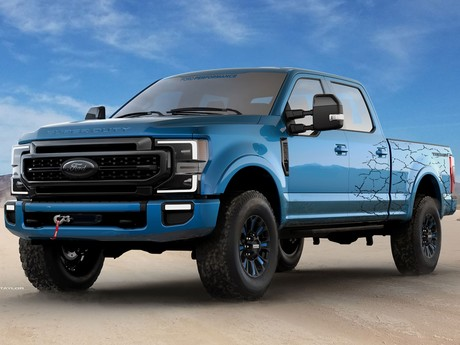 Weitere ford modelle sema 2019 007