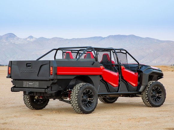 Honda rugged open air vehicle concept 003