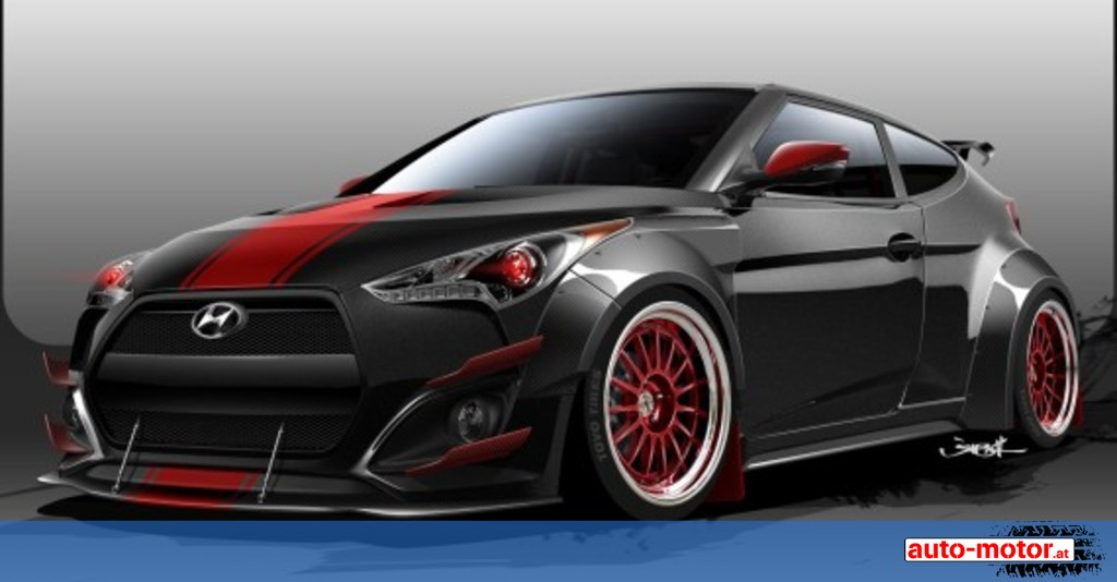 hyundai veloster tuning auf ber 500 ps auto. Black Bedroom Furniture Sets. Home Design Ideas