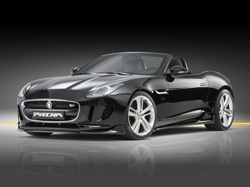 Piecha veredelt jaguar f type 001