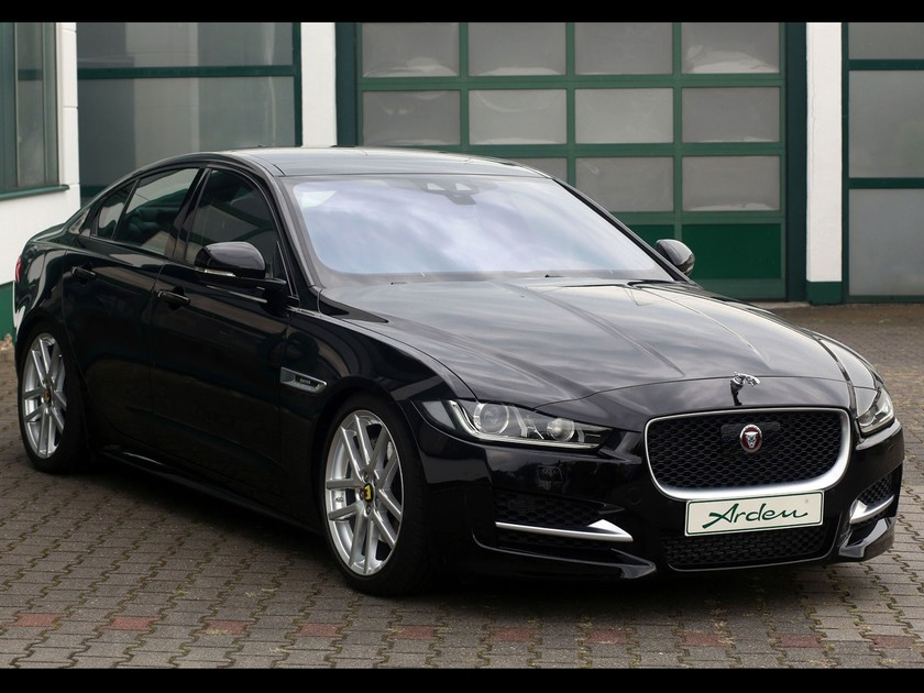 der neue jaguar xe als arden aj 24 auto. Black Bedroom Furniture Sets. Home Design Ideas