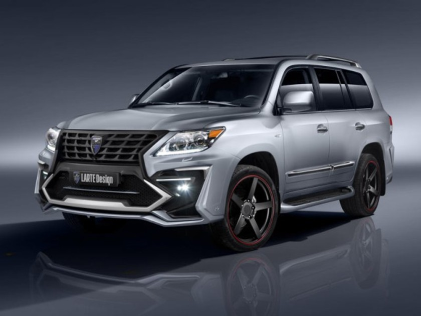 Larte alligator basis des lexus lx570 001