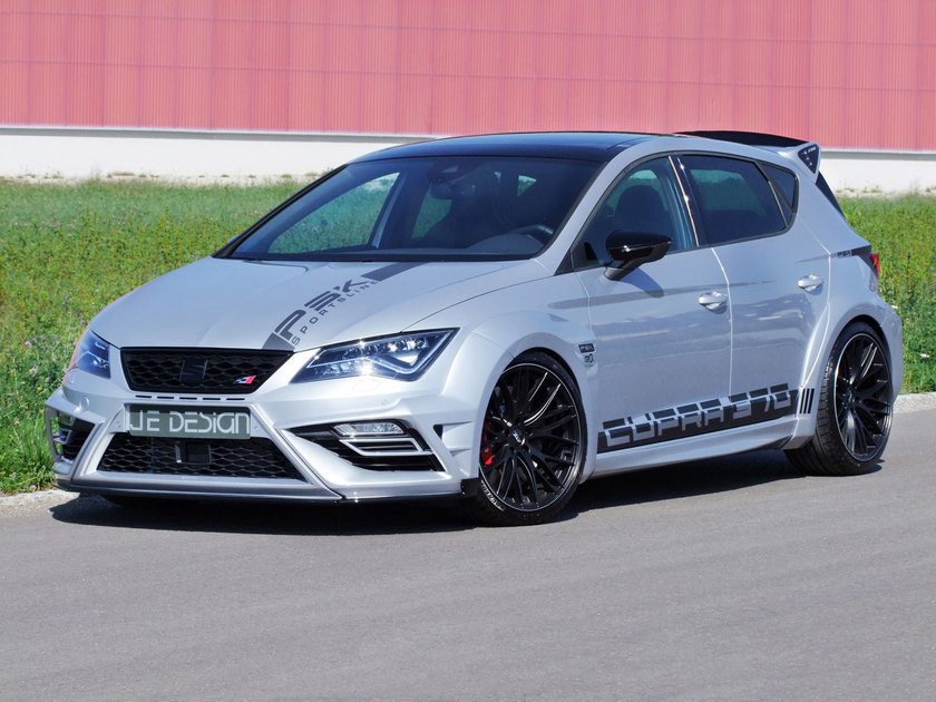 Leon Cupra 300 Widebody by JE DESIGN