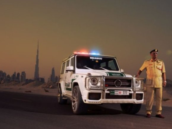 Dubai Police stellt Power-Off-Roader in Dienst