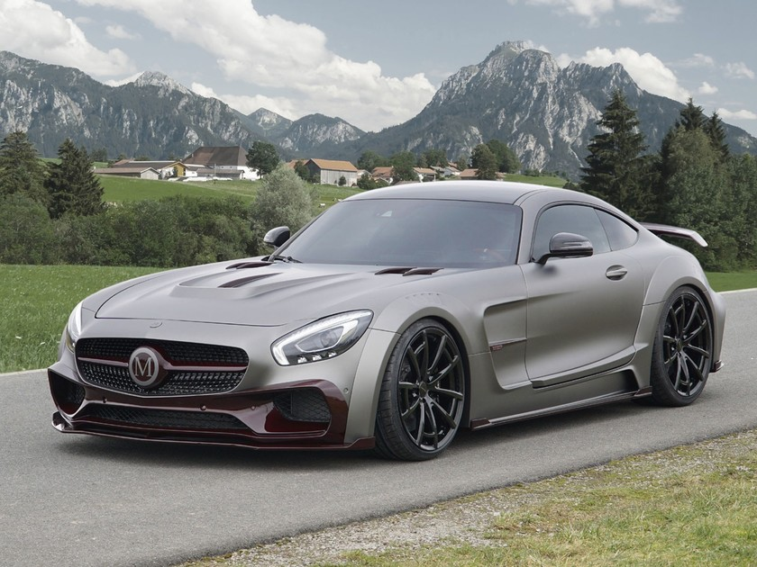 Tuning Mercedes Amg Gts By Mansory Auto Motor At