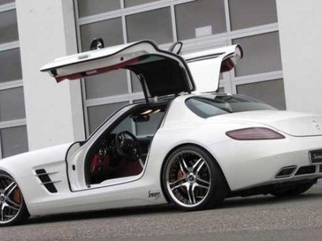 Mercedes AMG SLS Tuning by Senner