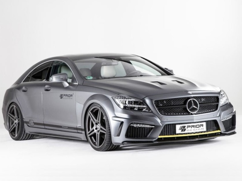 Tuning mercedes benz cls pd550 black edition 001
