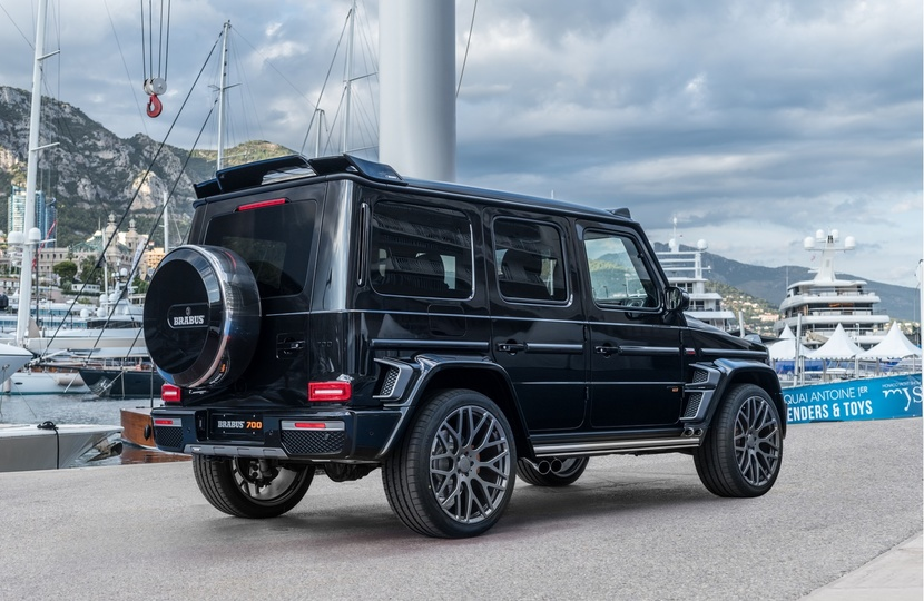 Mercedes G 63 AMG Tuning by BRABUS