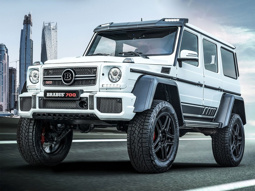 Limited edition brabus 700 4x4 2 001