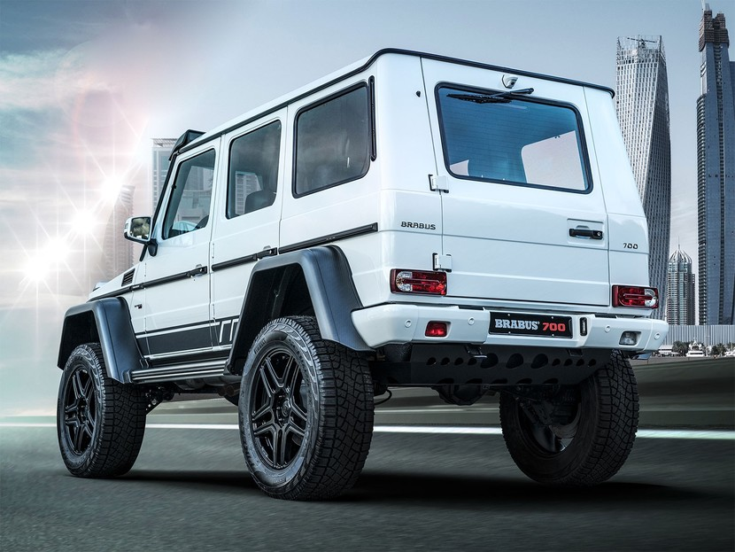 Limited edition brabus 700 4x4 2 002