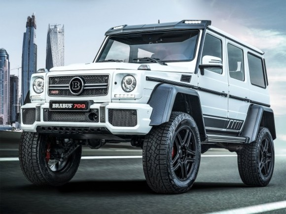Limited Edition: Brabus 700 4x4-2
