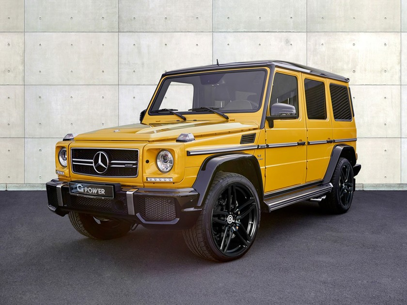 mercedes g klasse tuning by g power auto. Black Bedroom Furniture Sets. Home Design Ideas