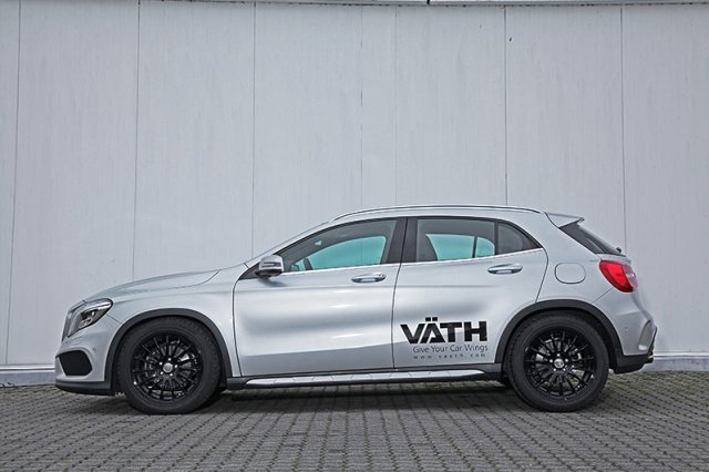 mercedes gla 200 tuning by v th auto. Black Bedroom Furniture Sets. Home Design Ideas