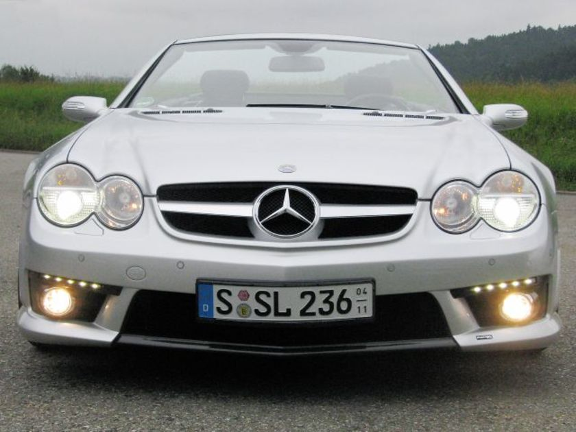 Mercedes sl r230 piecha 1