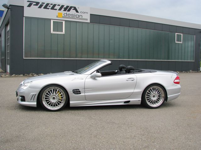Mercedes sl r230 piecha 2
