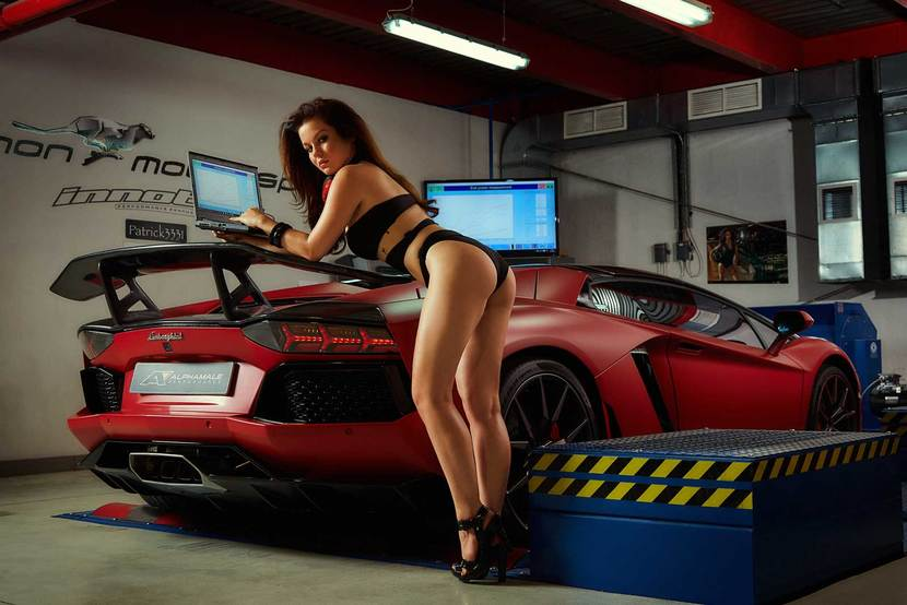 Miss Tuning Kalender 2017 Auto Motor At