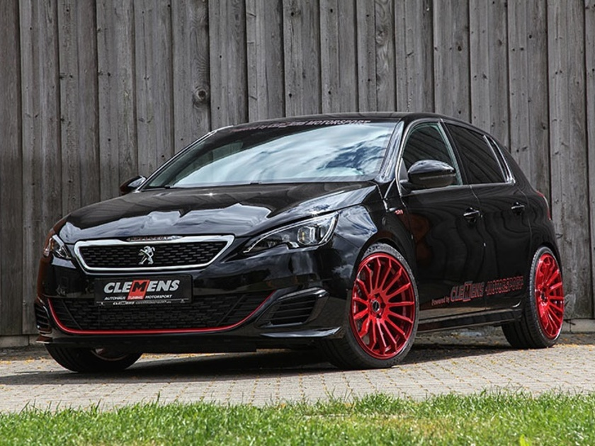 peugeot 308 gti tuning by clemens motorsport auto. Black Bedroom Furniture Sets. Home Design Ideas