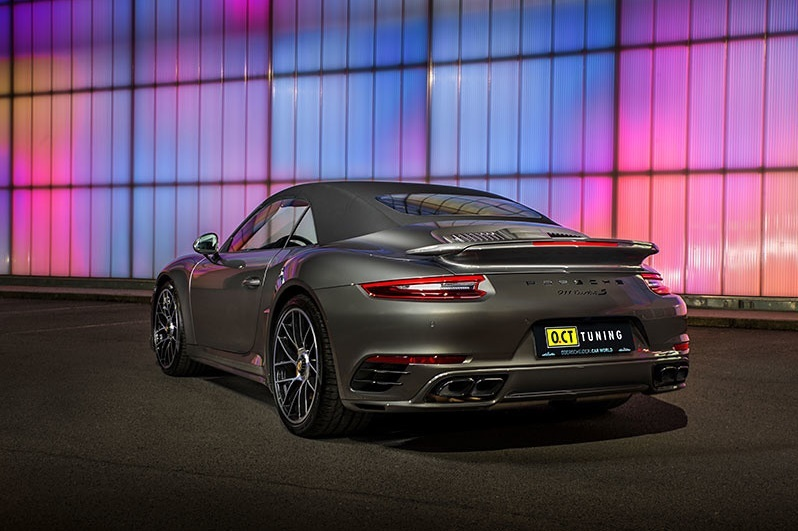 Porsche 911 Turbo Tuning by O.CT