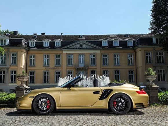 Porsche 997 Turbo Cabrio mit 840 PS