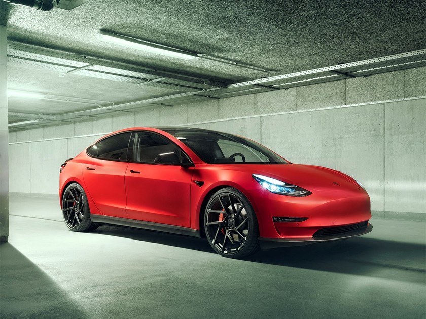 Tesla Model 3 Tuning by NOVITEC