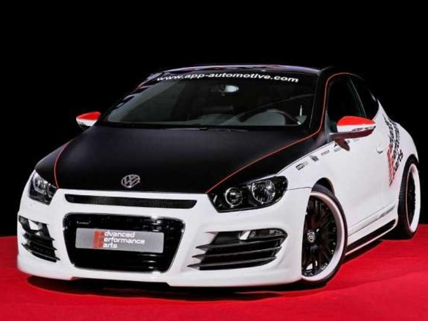 Vw scirocco tuning 1