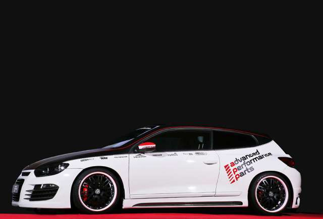 Vw scirocco tuning 2