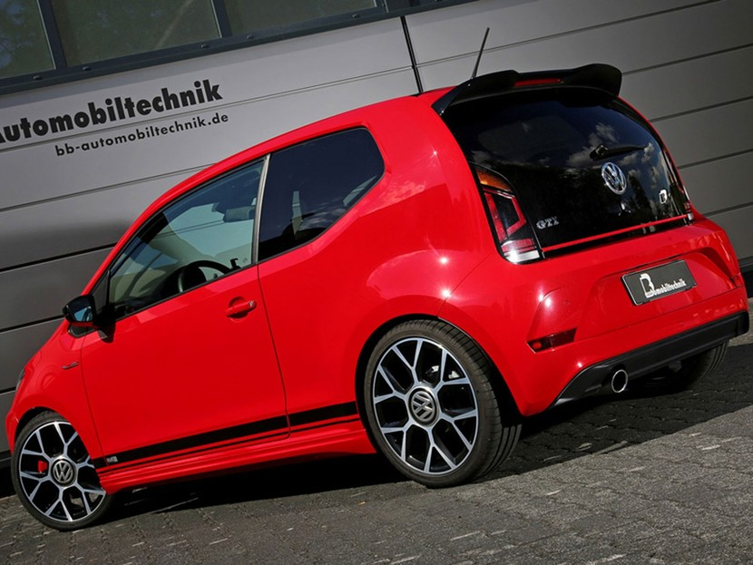 tuning f r den vw up gti auto. Black Bedroom Furniture Sets. Home Design Ideas