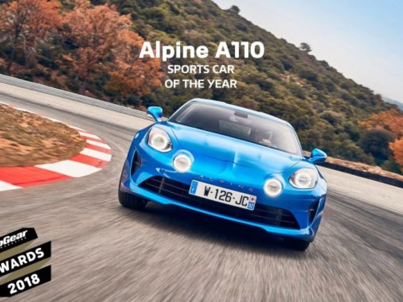 Alpine A110 zum Sports Car of the Year gewählt