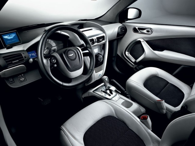 Neu: Aston Martin Cygnet Launch Editions