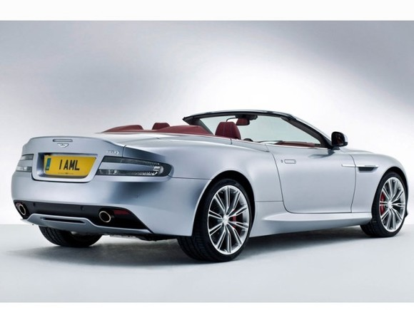 foto facelift fuer aston martin db9 vom artikel. Black Bedroom Furniture Sets. Home Design Ideas