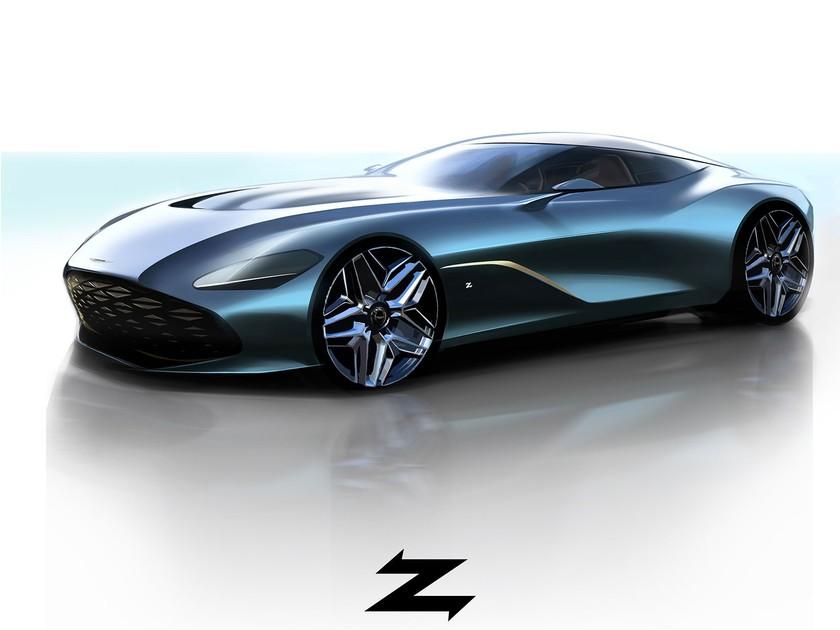 Nur 19 Stück Aston Martin Dbs Gt Zagato Auto Motor At